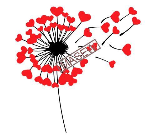 Dandelion Wish Clip Art