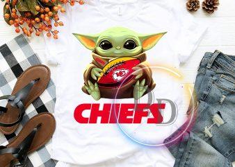 Kansas City Chiefs Baby Yoda Funny Football Fan T shirt, Football US