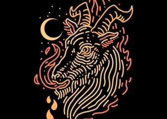 goat tshirt design