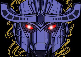 grafic design cyborg gundam
