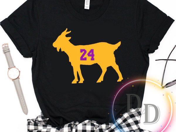 GOAT Kobe Bryant Legend Black Mamba 1978 – 2020 T shirt t-shirt design for commercial use