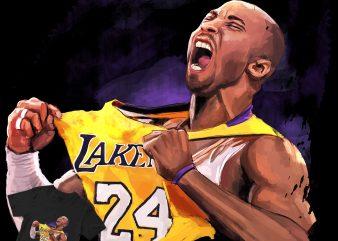 Kobe Bryant The Legend! buy t shirt design artwork