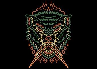 litle beast tshirt design