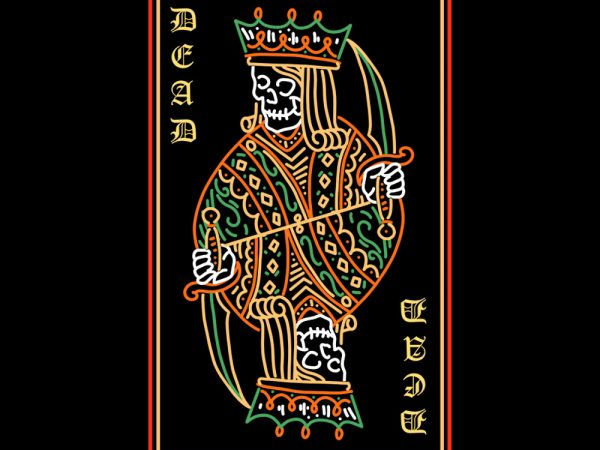 lord of dead tshirt design
