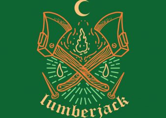 lumberjack tshirt design