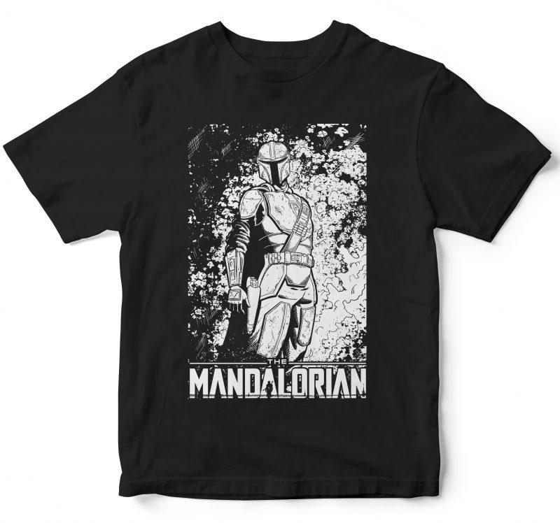 The mandalorian baby yoda tshirt factory