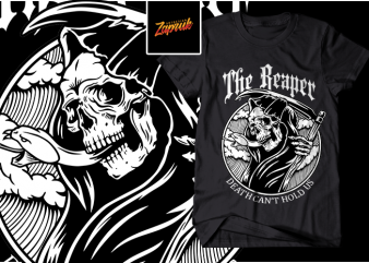 The Reaper design for t shirt