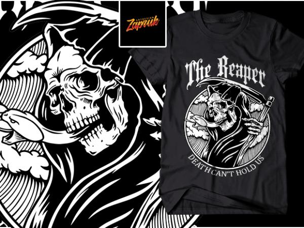 The Reaper design for t shirt