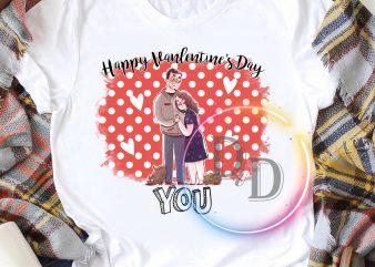 Happy Valentine's Day Couple T shirt design