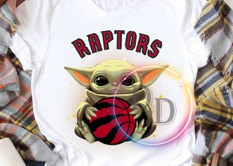 Baby Yoda Raptors Hockey FC T shirt design
