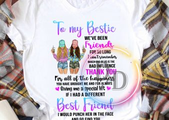 To my Bestie we've been friends for so long Best Friends Girls Sister T shirt