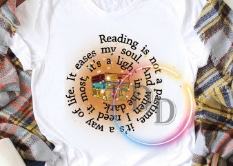 Book Lover design – Reading is not a pastime T shirt