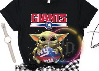 Giants NY Baby Yoda Funny Football Fan T shirt, Football US T shirt