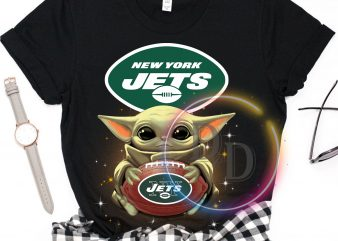 New York Jets Baby Yoda Funny Football Fan T shirt, Football US