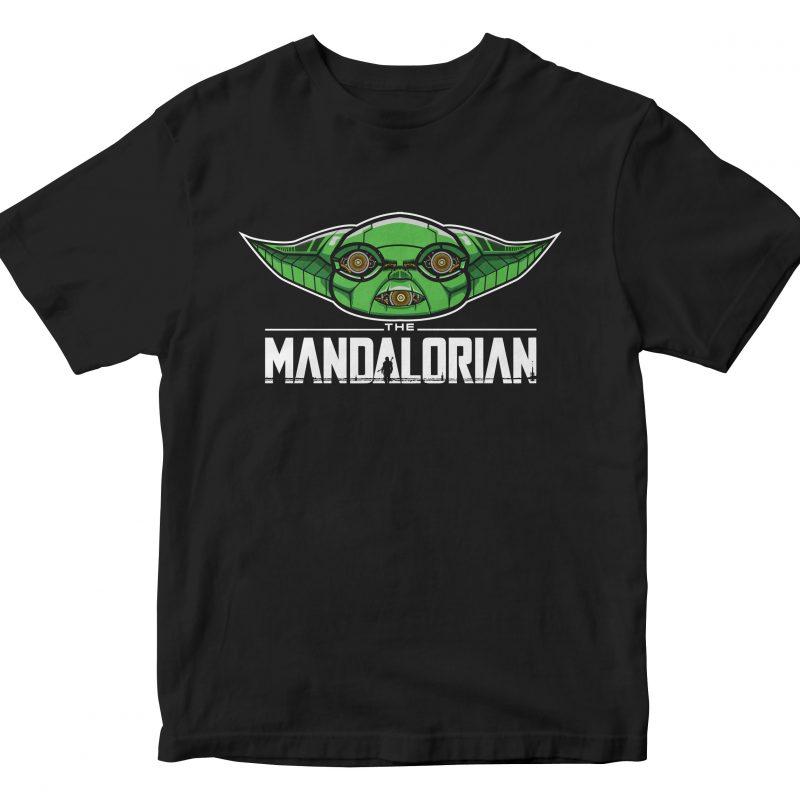 the mandalorian cyborg buy t shirt designs artwork