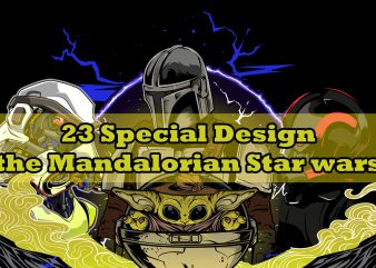 23 SPECIAL DESIGN Baby Yoda THE MANDALORIAN STARWARS
