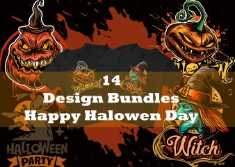 14 Halloween Design bundles
