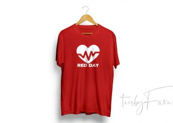 RED Day T-Shirt Design