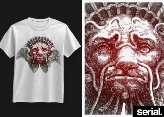 ◍ ʀᴇ//ᴍᴀꜱᴛᴇʀ ᴏɴᴇ ◍ Tribal Animal Tattoo Graphic T-Shirt Design