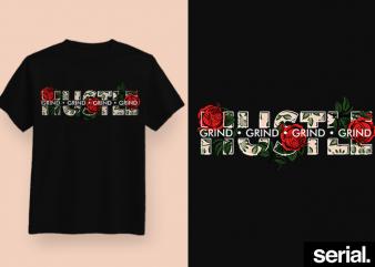 ◍ ʜᴜꜱᴛʟᴇʀ'ꜱ ᴘᴀʀᴀᴅɪꜱᴇ ◍ Hustle Entreprenuer Graphic T-Shirt Design