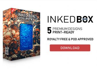 Inked Box #1 T-Shirt Design Bundle