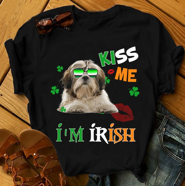 Shihtzu dog – 9 designs tshirt design for merch by amazon
