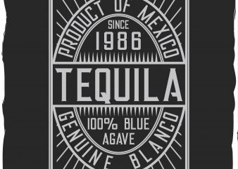 Tequila spirit t shirt designs for sale