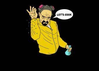 Let's Cook Meth t-shirt design png
