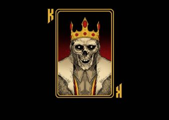 King Card t shirt design for sale