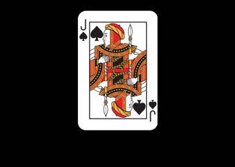 Jack Card vector clipart