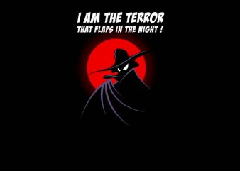 The Terror In The Night t shirt designs for sale