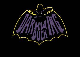 Batman Duck vector shirt design