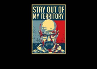 Stay Out design for t shirt