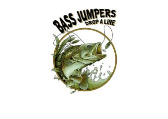 Fishing Bass Line buy t shirt design