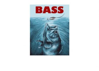 Fishing Bass buy t shirt design