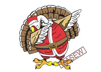 Turkey dabbing, Christmas, Thanksgiving EPS SVG PNG DXF digital download t shirt designs for sale