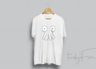 zoidberg style t-shirt design