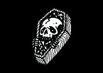 Death graphic t-shirt design