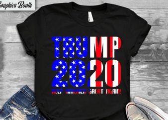 Trump 2020 Keep America Great Again! buy t shirt design artwork, t shirt design to buy, vector T-shirt Design, American election 2020.