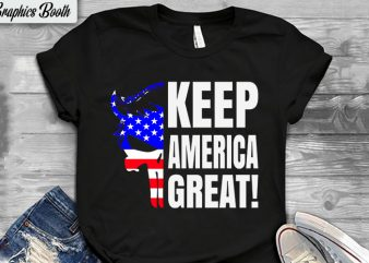 Keep America Great design for t shirt, buy t shirt design artwork, t shirt design to buy, vector T-shirt Design, American election 2020.