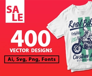 400 t-shirt designs bundle