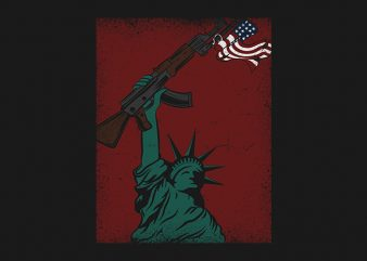 American Nationalizm t shirt design