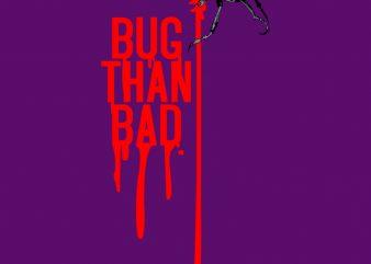BUG shirt design png