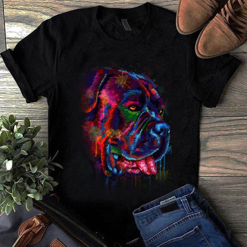 Super Cool Dog Hand Drawn Bundle – Part 1 tshirt design for sale