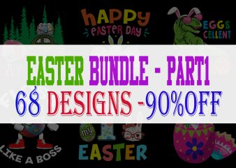 Easter Bundle – Part 1 – 68 Designs