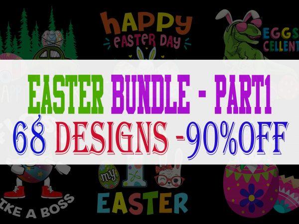 Easter Bundle – Part 1 – 68 Designs