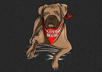 boxer dog i love mom hand drawing png,boxer dog i love mom design,boxer dog i love mom vector,boxer dog mom png,boxer dog tatoo i love mom,boxer dog buy t shirt design