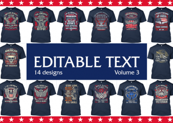 Gun T-shirt Designs Bundle Vol 3