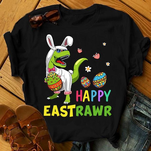 Easter Bundle – Part 1 – 68 Designs t shirt designs for print on demand