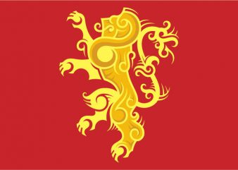 House Lannister Sigil t shirt design for sale
